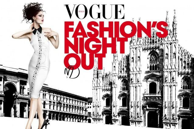 Vogue Fashion Night Out 2015 Milano Date Negozi Notte Città