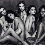 Victoria's Secret Nuovi Angeli Foto Omaggio Bianco Nero