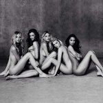 Victoria's Secret Nuovi Angeli Foto Omaggio Bianco Nero Elsa Hosk