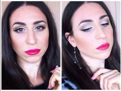 tutorial make up labbra bicolor